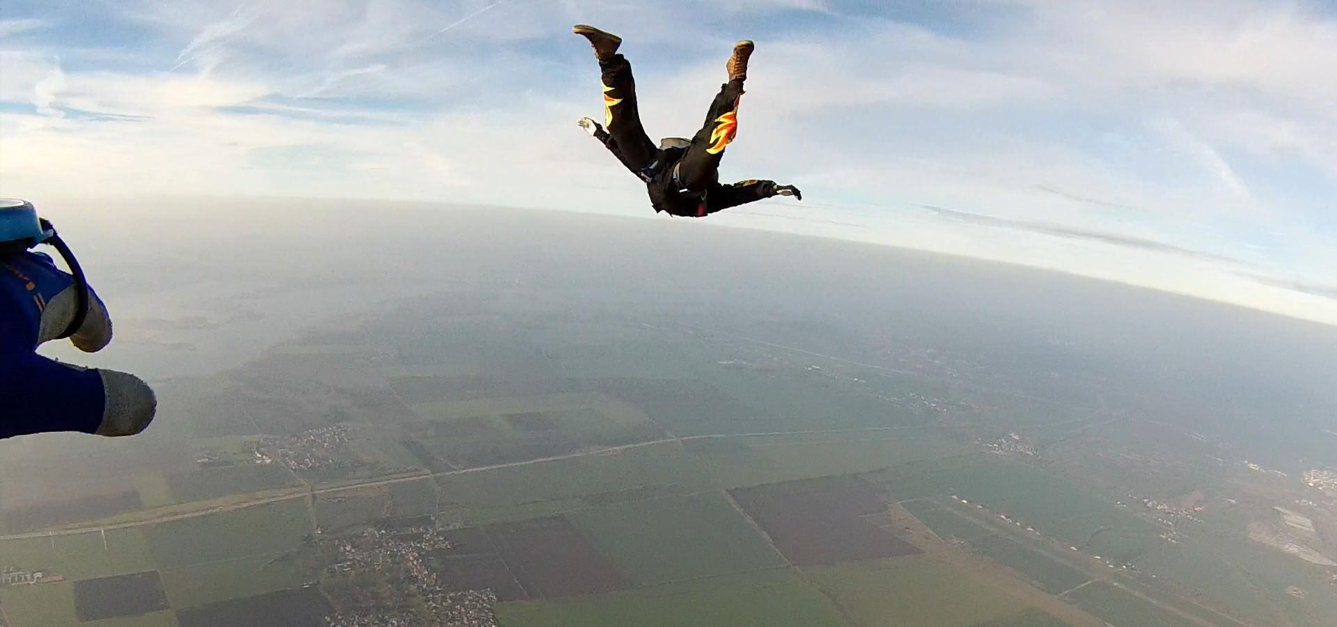 Fallschirmspringen Tracken Separation
