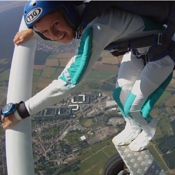 Fallschirmspringen Schnupperkurs Absprung aus Cessna